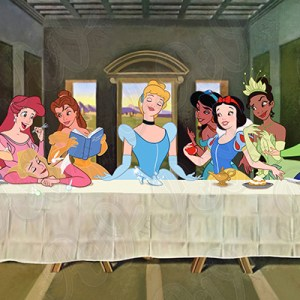 Last Supper Princesses