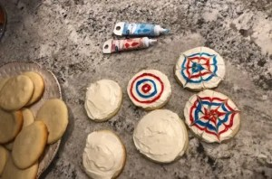 Pinwheel Sugar Cookies to Celebrate the 4th of July!