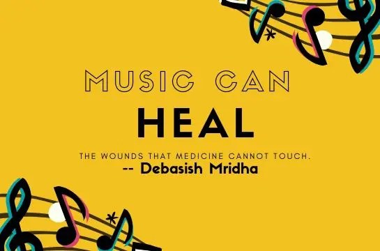 music can heal