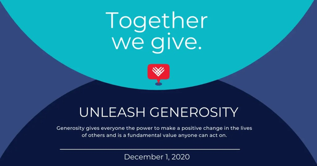 Giving Tuesday is a day to unleash generosity