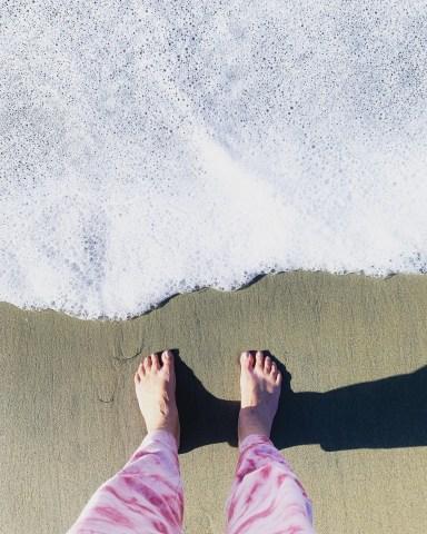 beach, self-care