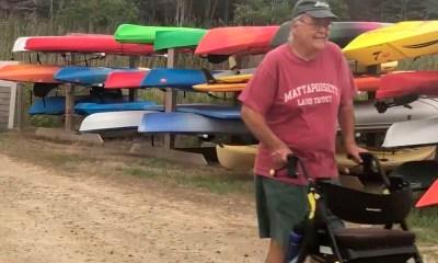88-year-old Massachusetts man completes walk 'around the world'