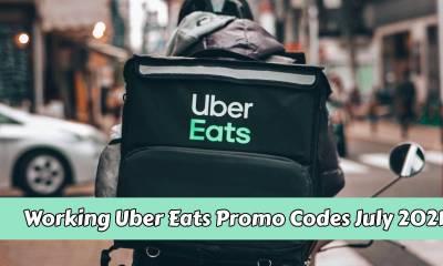 Working Uber Eats Promo Code - July 2021
