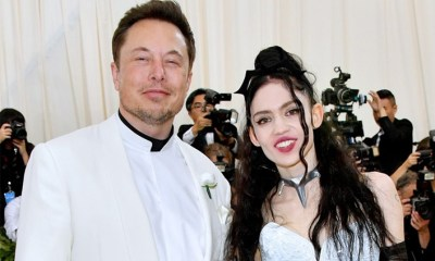 Elon musk and wife grimes