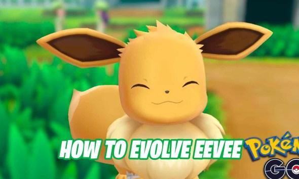 How to evolve Eevee