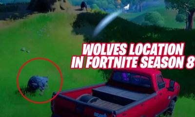 Wolves Location in Fortnite Season 8