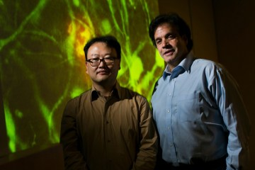 Boston neuroscientists Doo Yeon Kim Rudolph Tanzi grow Alzheimers cells in petri dish