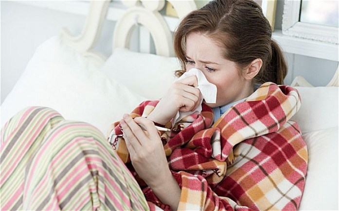 study has revealed that adults over 30 years of age contract flu only twice a decade