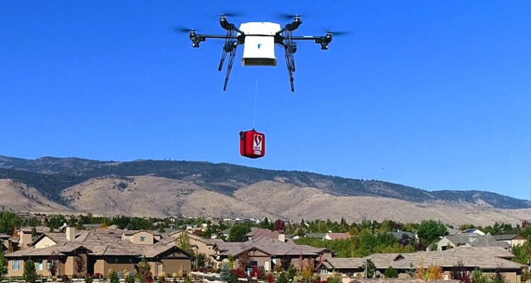 US aviation authority says the commercial drone market is