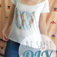 Easy Cat Shirt DIY