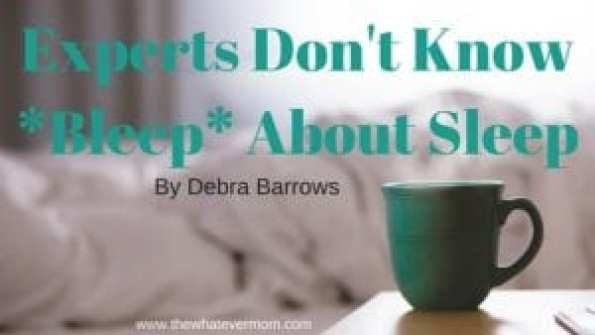 Experts Don't Know-Bleep- About Sleep
