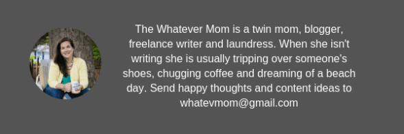 Writer Bio for The Whatever Mom