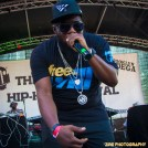 Rapper Freeway peforms at the 11th Annual Brooklyn Hip-Hop Festival held at Williamsburg Park on July 11, 2015 in Brooklyn, NY