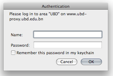 guestubd proxy authentication popup