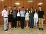 Ari, Lisa, Andrew, Kayla, Christopher, Farrah, David, Crystal and Jake (Amanda was at college orientation)