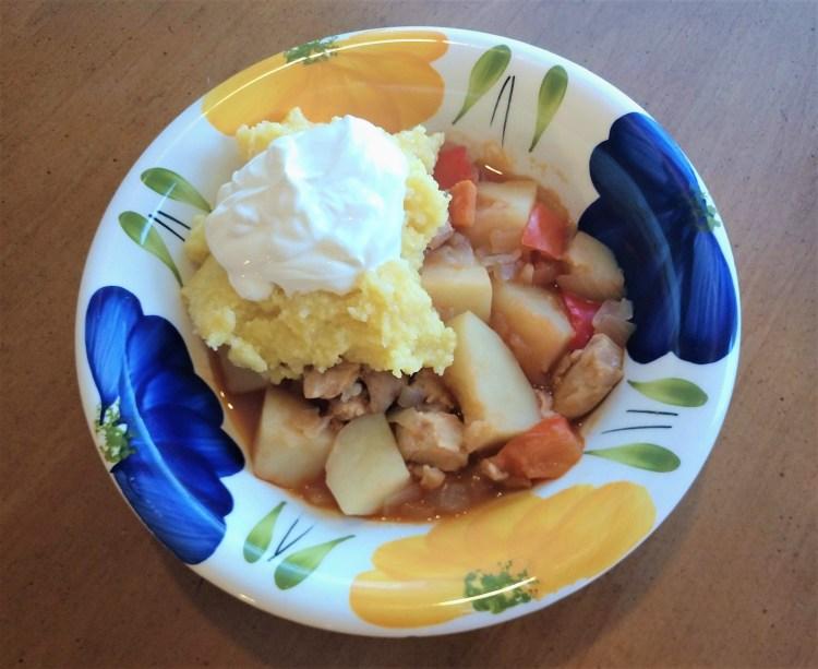 tocanita de cartofi and mamaliga 1
