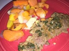 Skirt Steak and Roasted Root Vegetables