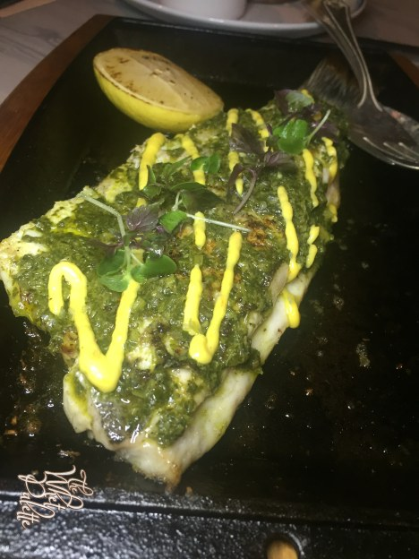 Grilled Whole Branzino ($15 supplement)
