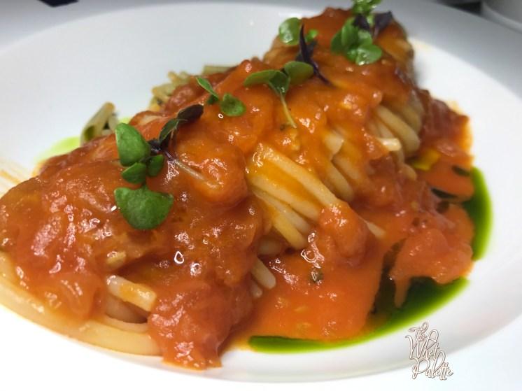 Spaghettone Pomodoro e Basilico