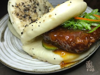 Duck Scrapple Bao Bun ($8)