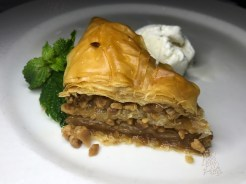 BAKLAVA layered phyllo with almonds