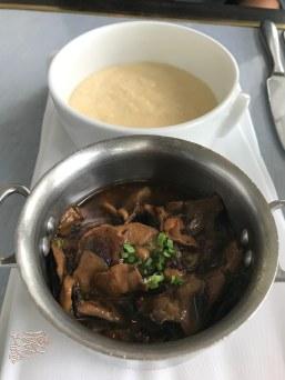 Creamy Polenta + Fricassee of Truffled Mushrooms