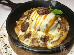 Hot Cast Iron Skillet Cookie
