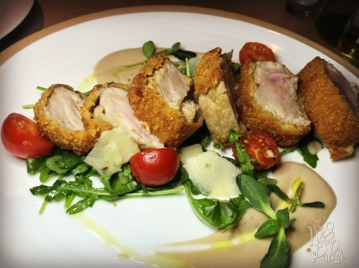 Veal Loin Milanese Style