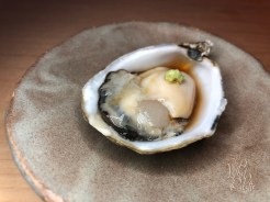 SHIGOKU OYSTER with organic soy-citrus sauce (Seattle, WA)