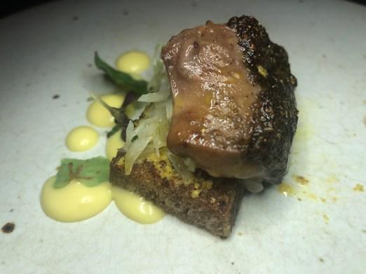 Stubborn Seed: Smoked Foie Gras