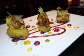 L'Aubergine: eggplant confit, fine seasonings, vegetable curry