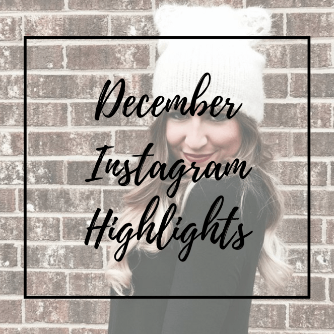December Instagram Highlights