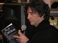 Neil Gaiman Book Signing, Kinokuniya, Sydney