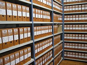 Depósito del Archivo de la Fundación Sierra-Pa...
