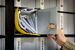 Mail FAIL: That awkward moment when the USPS fills your PO Box with other people's letters