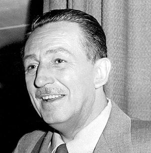 English: Portrait of Walt Disney, 1 January 19...