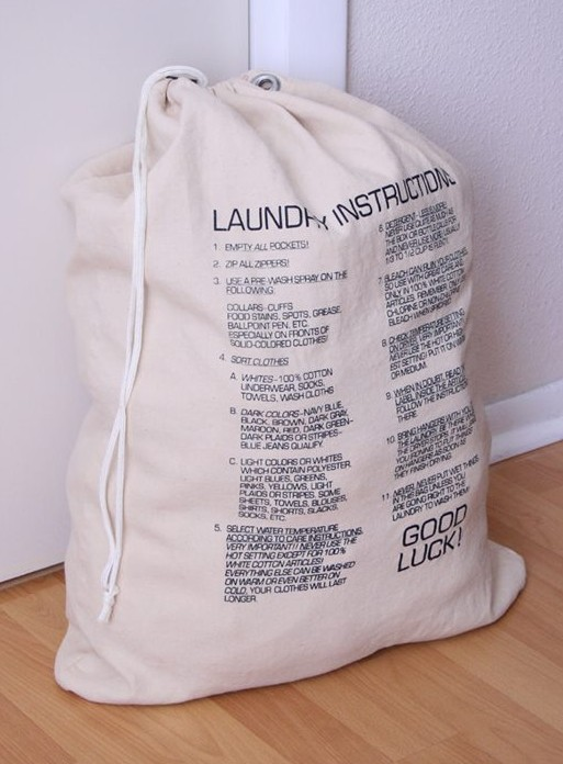 Nickel Productions Laundry Bag