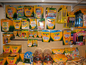 A wide variety of Crayola brand products for s...
