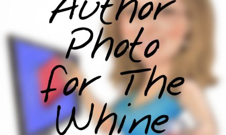 Behold The Whine Seller's new author photo!