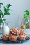 Almond- Raspberry Breakfast Muffins