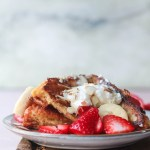 Mascarpone Cheese Stuffed French Toast