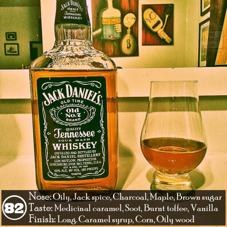 Jack Daniel\'s Old No. 07 Review - The Whiskey Jug