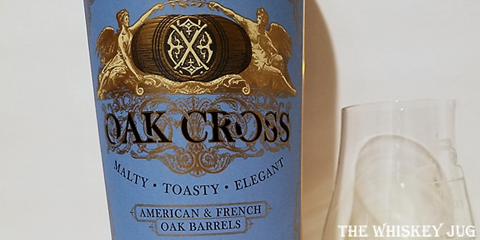 Compass Box Oak Cross Label