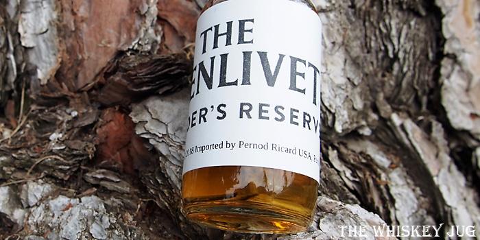 Glenlivet Founder's Reserve Label