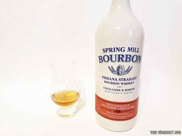 Spring Mill Bourbon Color