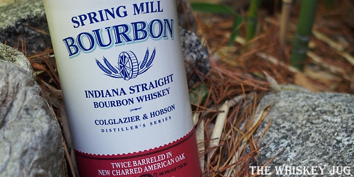 Spring Mill Bourbon Label