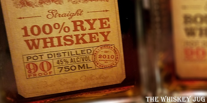 Woodinville Straight Rye Label