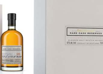 The first of the Rare Casks Reserves Ghosted Reserves from William Grant & Sons (image via threebrand)