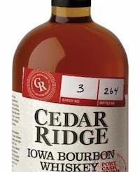 Cedar Ridge Port Cask Bourbon