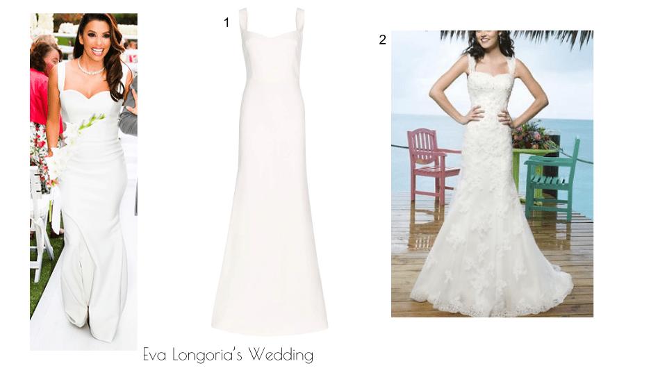 Wardrobe Wednesdays: Eva Longoria's Wedding Dress